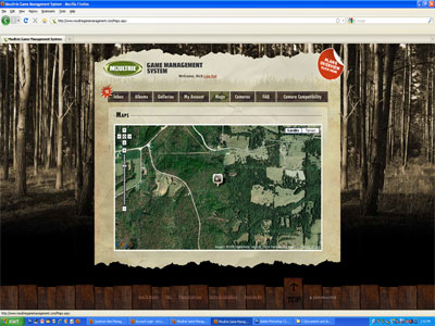 Moultrie Game Management Aerial Map